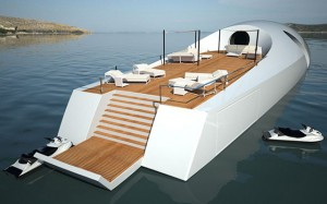 The U-010 Underwater Luxury Yacht