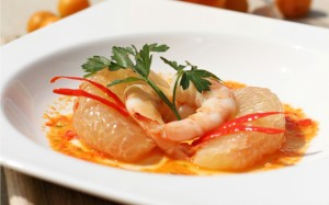 Spicy-Thai-pomelo-salad-with-Shrimp