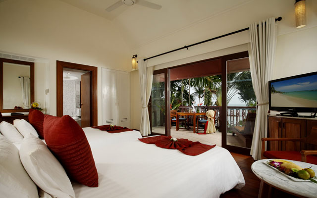 Centara Villas Samui - Deluxe Ocean View Twin Bed