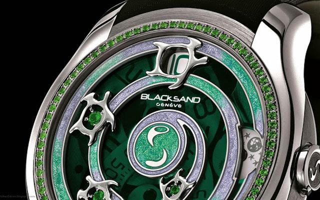 BLACKSAND - Continuity Sea Turtle Emerald (1)