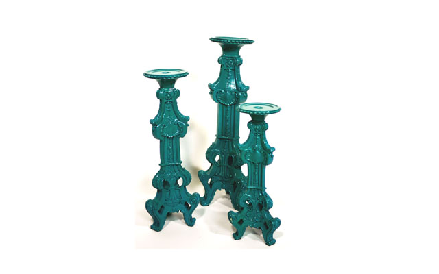Candle Holder (Green)HC
