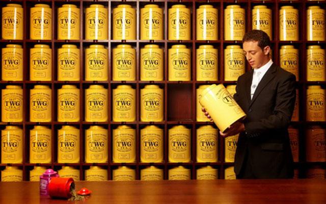 TWG Tea Staff