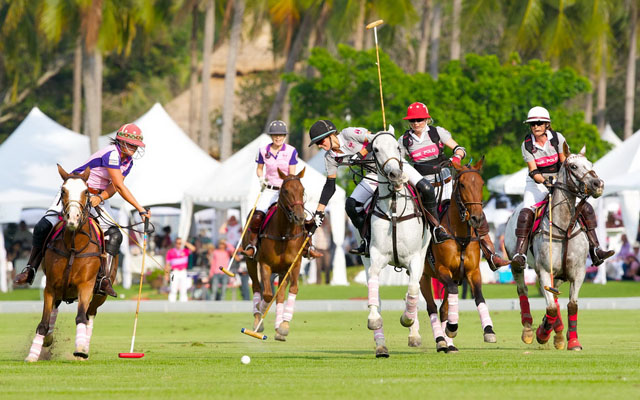 01 Queen's Cup St.Regis Pink Polo 2012