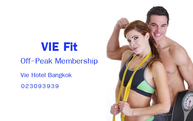 Off-Peak membership at VIE Fit at VIE Hotel Bangkok