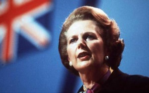 Margaret Thatcher  Union Jack