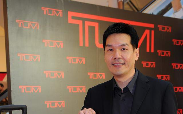 สุรยศ กาญจนาภา ผู้จัดการสายงานผลิตภัณฑ์ TUMI