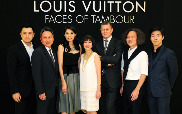 LOUIS VUITTON : FACES OF TAMBOUR