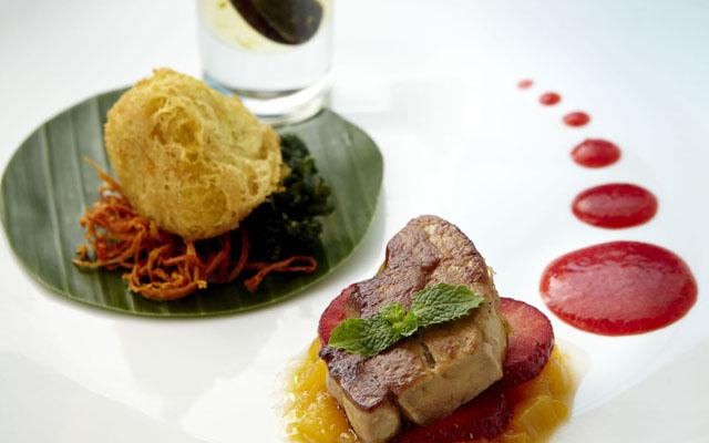 Foie Gras Strawberry and Khang Khao Pumpkin_web