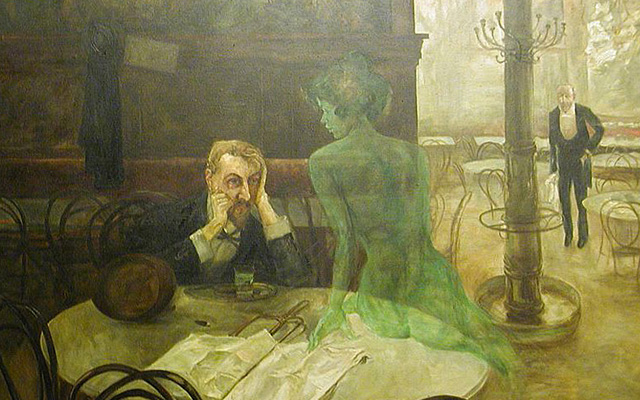 Viktor-Oliva-The-absinthe-drinker