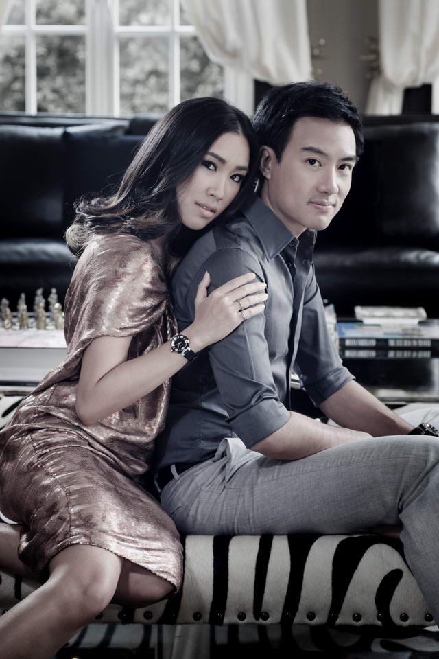 Mr Cory & Ms. Tipanan Srifuengfung FACES of TAMBOUR by Louis Vuitton
