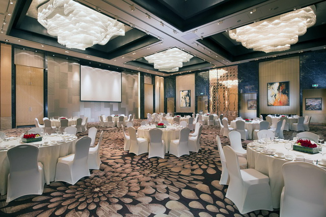 Grand Ballroom of Shanghai Marriott Hotel Pudong East