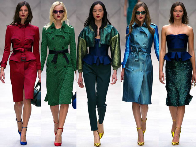 burberry spring summer 2013 ss2013 collection 1