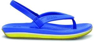 14204-4I8_SIDE_Crocs_Retro_Flip-flop_Kids_Varsity_Blue_Burst