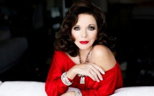  Joan Collins, Love has no &#8220;age&#8221;.