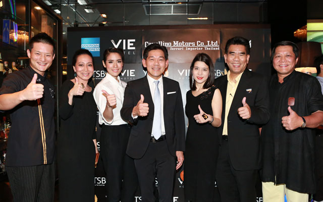 YTSB Launch Party and the new fashion-forward VIE Bar at VIE Hotel Bangkok
