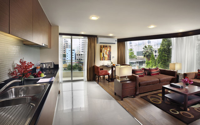 Amari Residences Sukhumvit_One bedroom Premier with balcony