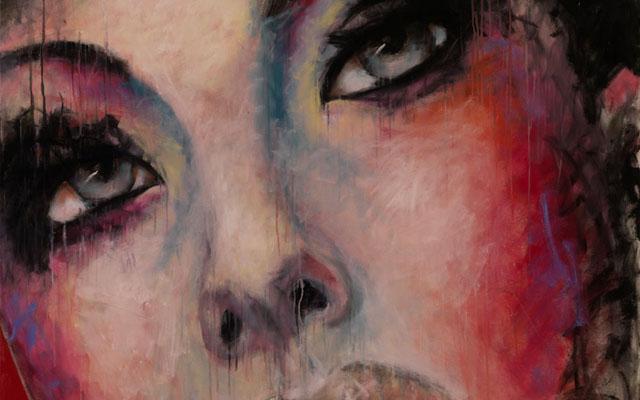Arbella oil on canvas by Elizabeth Romhild