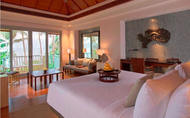 Regent Phuket Cape Panwa Pool Villa Bedrrom