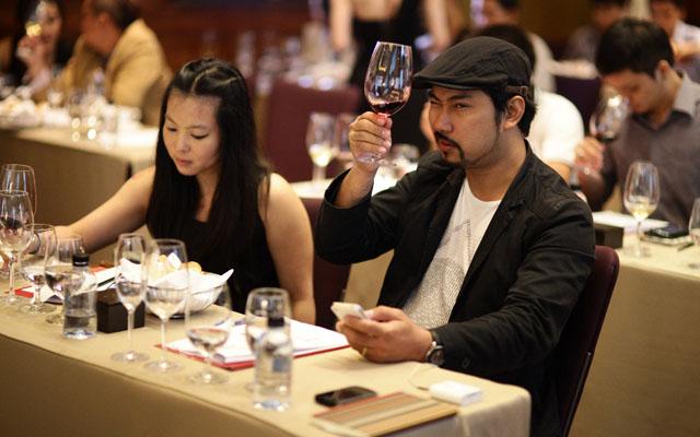 บรรยากาศภายในงาน World of Wines Education 2013