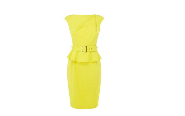 Karen Millen_ SHIFT DRESS (YELLOW) THB 13,900