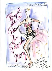 Sketch 3 for Rita Ora
