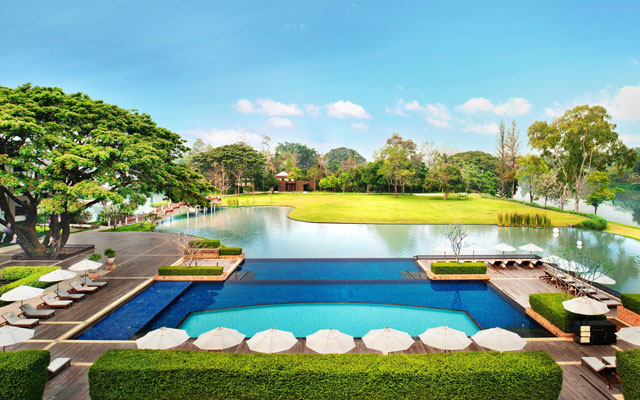 3-Tiered Infinity Edge Swimming Pool