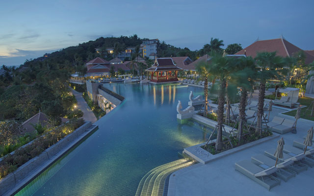 Regent Phuket Cape Panwa pool panorama
