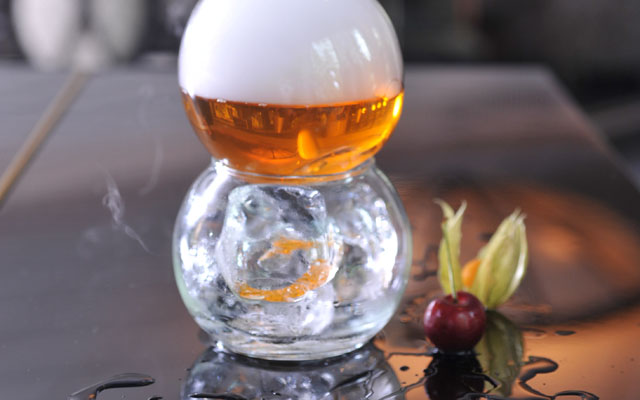 Vintage Cocktails - Cloudy Negroni
