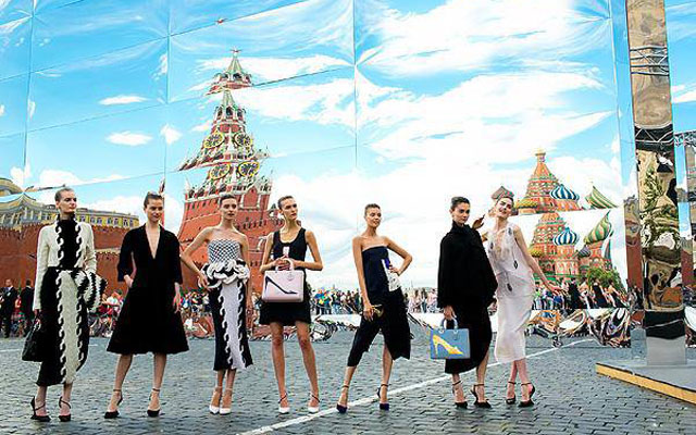 Dior in Moscow