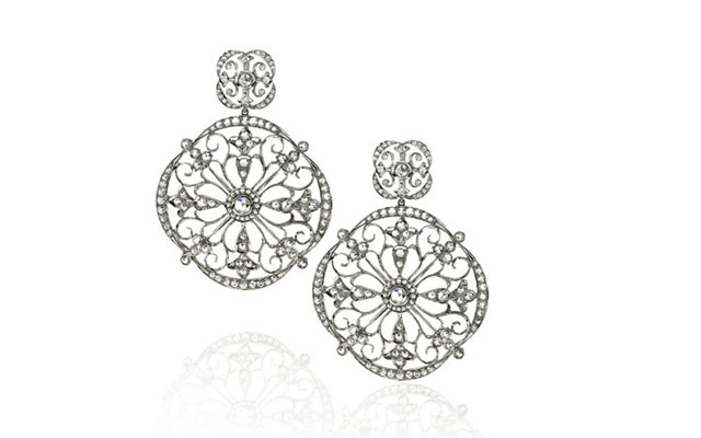 HC snowflake earrings