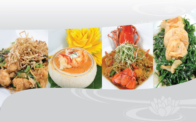 Special Seafood Dishes at Celadon July 2013