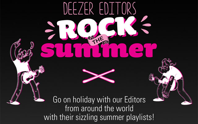 Deezer's Perfect Summer playlist