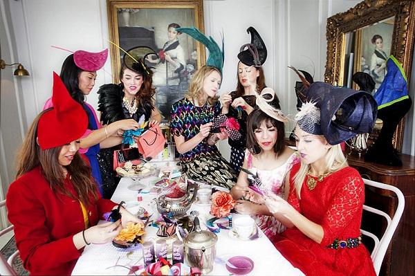 hat_making_afternoon_tea_grosvenor_house_lussorian