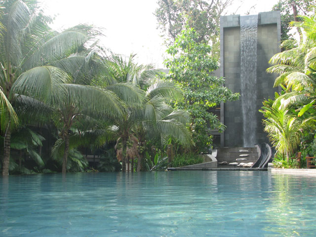 E15.Swimming Pool with Waterfall