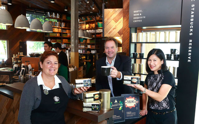 Starbucks Reserve launch