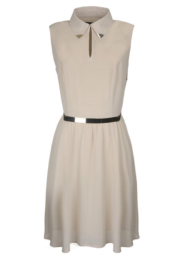 05 Nine West_ White Sleeveles Dress THB 6,900