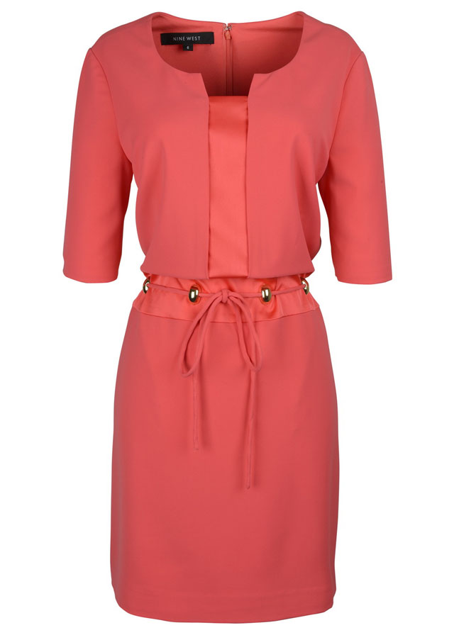 10 Nine West_Coral Dress THB 7,900