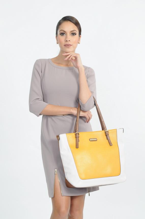 12 Anne Klein_DRESS  THB 15,900 BAG THB 6,500