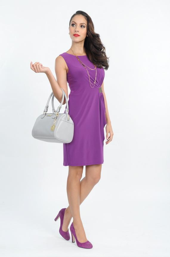 13 Anne Klein_DRESS THB 16,900 , BAG THB  5,500 , Shoes THB 6,500