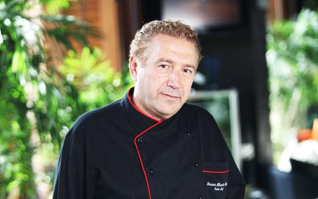 Chef Alberto Bruni