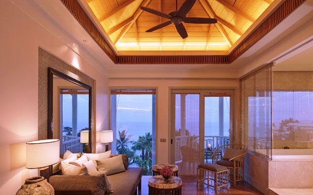 Regent Phuket Cape Panwa Cape Suite Living Room