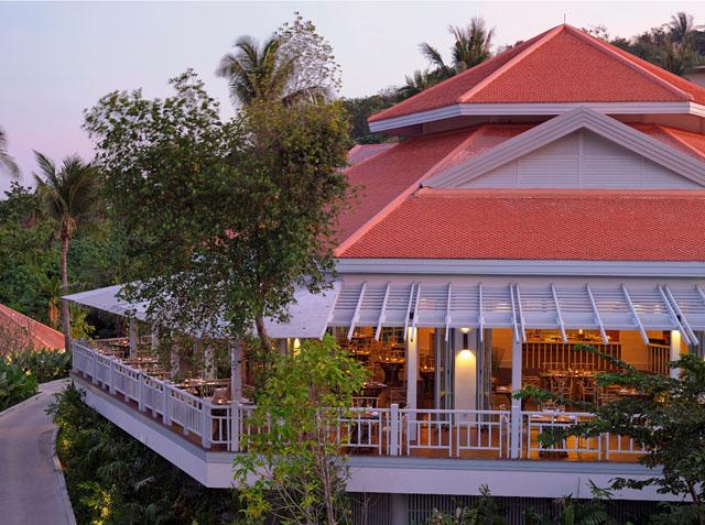 Regent Phuket Cape Panwa The Restaurat overview