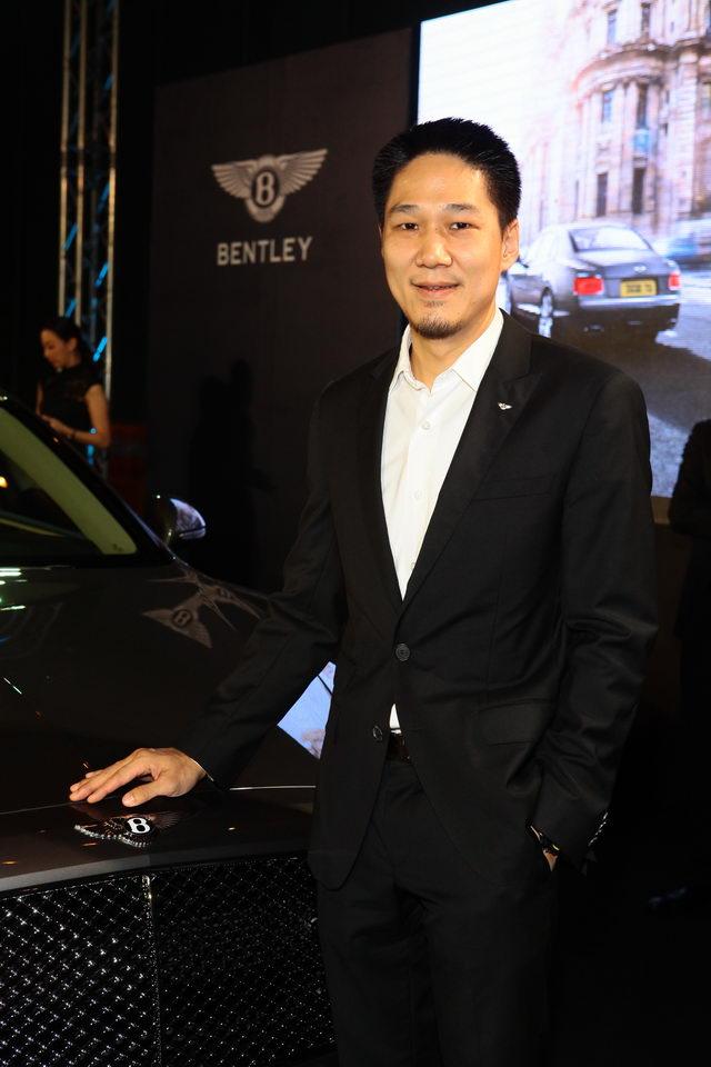 วุฒิกร อินทรภูวศักดิ์ ประธานบริหาร เบนท์ลี่ย์ ประเทศไทย บ.เอเอเอส ออโต้ เซอร์วิส จำกัด ผู้อยู่เบื้องหลังความสำเร็จของงานนี้