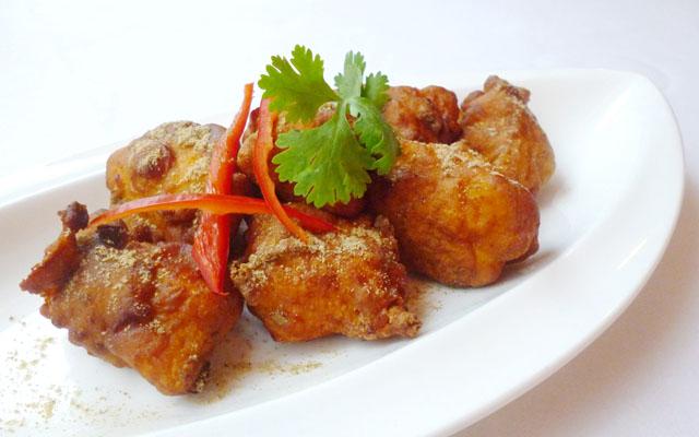 Chicken Pakoda - Deep fried crunchy Chicken Pakoda