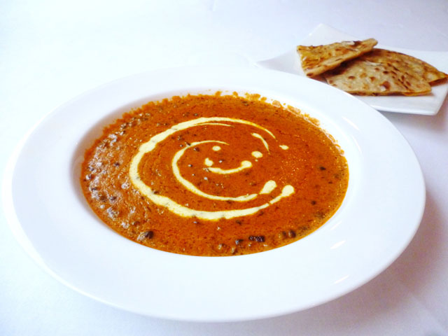 Dal makhani - Black lentil in creamy curry flavorful mild spicy