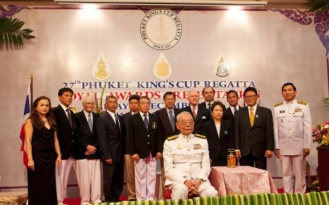 Phuket King's Cup Regatta 2013.