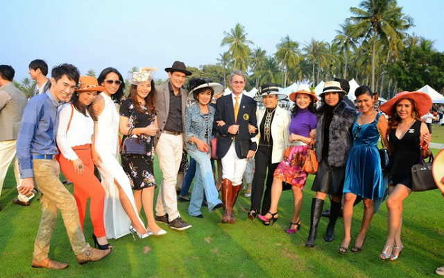 20. Thai Polo Open 2014, Stompping