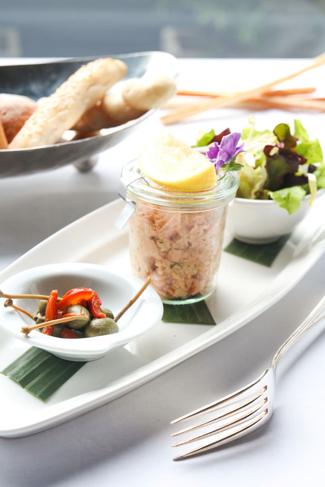 Smoked and fresh Salmon rillette 1