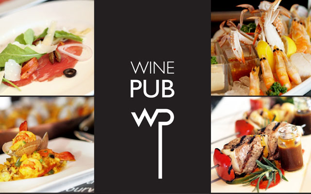 Everyday All You Can Eat Buffet at Wine Pub Cover