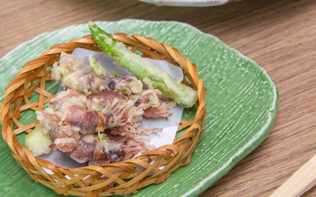 Firefly squid tempura_1